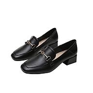 Giày công sở nữ cao cấp đế vuông cao 3 cm mã 189-1 thumbnail
