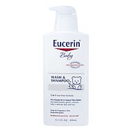 Sữa Tắm Gội Dịu Nhẹ Cho Bé Eucerin Baby Wash & Shampoo (400ml) thumbnail