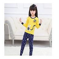 quần áo thu đông cho bé trai và bé gái từ 3 - 10 tuổi in họa tiết con mèo thumbnail