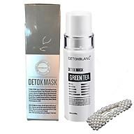 Mặt Nạ Thải Độc Trắng Da Ngừa Mụn Nám Detox BlanC Detox Mask (mẫu mới) + Tặng kèm Kẹp tóc Ngọc Trai thumbnail