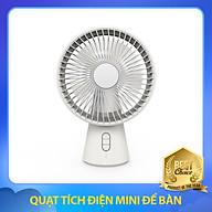 Quạt Tích Điện Mini Để Bàn 3 Trong 1 Với Dung Lượng Pin 4000mAh, Công Suất 4W thumbnail