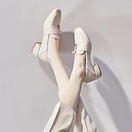 Giày oxford mũi vuông đế vuông style Hàn Quốc G010 thumbnail