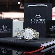 Đồng hồ Nam Dây Thép Hegner HW-1655NM , Full box, Chống xước, Chống nước thumbnail