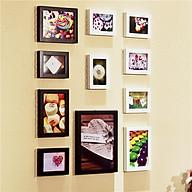 Bộ 11 khung ảnh treo tường phòng ngủ KA1101 Miễn phí phụ kiện. thumbnail