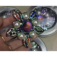 Con Quay Giảm Stress Hand Spinner - Fidget Spinner 5 cánh bướm đính ngọc thumbnail