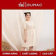 Đầm váy nữ DA10121 GUMAC thiết kế oversize 4 nút bọc thumbnail