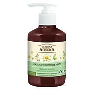 Dung dịch vệ sinh phụ nữ kháng khuẩn cây trà Zelenaya Apteka Gentle intime soap tea tree 370ml thumbnail
