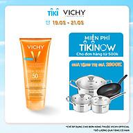 Kem chống nắng toàn thân dạng gel sữa không gây nhờn rít Vichy Ideal Soleil Body Milk Gel SPF50 UVB+UVA 200ml thumbnail