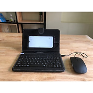 Bao da bàn phím điện thoại kèm thêm chuột nhỏ gọn tiện dụng, hiện đại với công nghệ hiện đại thumbnail