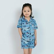 Đồ bộ pijama bé gái hình chim én thumbnail