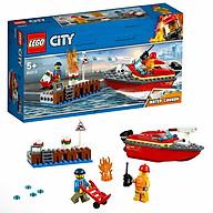 Bộ lắp ráp Cứu Hỏa Bến Tàu - LEGO City 60213 (97 Chi Tiết) thumbnail