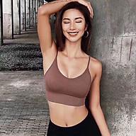 Áo bra thể thao cao cấp - gym, yoga, aerobic thumbnail