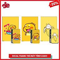 COMBO 5 DECAL QOOBEE TRANG TRÍ DÀNH CHO MÁY TÍNH CASIO VINACAL thumbnail