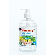 Nước rửa tay sinh học Sunny diệt khuẩn 99,9% bảo vệ da tay 500ml thumbnail