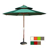 Dù gỗ 2 tầng nhiều màu ( không bao gồm đế dù) thumbnail