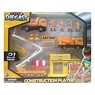 Đồ Chơi Mô Hình Công Trình Diecast 70362 (21 Chi Tiết) - PLAYMIND 70362 thumbnail
