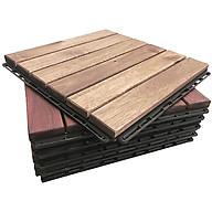 Ván sàn 6 nan thẳng gỗ tràm F1 - thùng 6 vỉ thumbnail