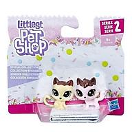 Bộ đôi Mèo Quyến Rũ LITTLEST PET SHOP E1073 E0399 thumbnail