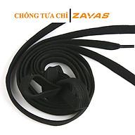 Dây giày trắng dẹt và dây giày đen dẹt ZAVAS loại chắc chắn không bị tưa xù chỉ dài 1m2 thumbnail