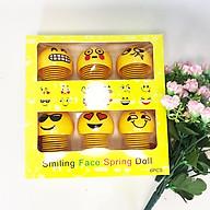 Hộp 6 con Thú nhún emoji lò xo hàng đẹp thumbnail