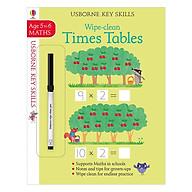 Usborne Usborne Key Skills Wipe-clean Times Tables 5-6 thumbnail