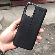 Ốp lưng dành cho Xiaomi Redmi Note 10 silicon giả da chính hãng Auto Focus thumbnail