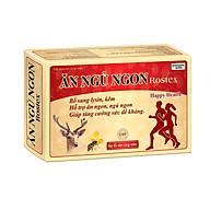 Ăn ngủ ngon Rostex vàng - Hộp 60 viên - Bổ sung lysin - kẽm - giúp tăng cường sức đề kháng - Ăn thumbnail