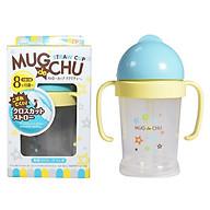 Bình Uống Nước Có Ống Hút Bằng Nhựa Cho Em Bé Pip Baby (200ml) - Nắp Xanh - Giao Mẫu Ngẫu Nhiên thumbnail