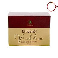 Túi thảo mộc Wonmom - Vệ sinh cho mẹ bầu và sau sinh (Hộp 10 túi) - Tặng Kèm Vòng Tay Phong Thủy May Mắn thumbnail