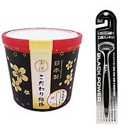 Combo hộp 180 bông ngoáy tai cao cấp cho người lớn + Bàn chải ion vệ sinh lưỡi nội địa Nhật Bản thumbnail