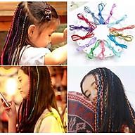 Dây đan tóc nhiều màu combo 10 dây (ngẫu nhiên) thumbnail
