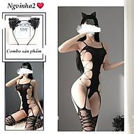 Set cosplay đầm ngủ hóa trang gợi cảm thumbnail