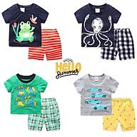 Bộ quần áo trẻ em LITTLE BUDDY họa tiết dễ thương chất cotton hàng xuất Âu Mỹ thumbnail