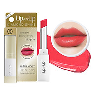 Son Nhũ Trang Điểm Dưỡng Tối Ưu Lip On Lip Diamond Shine 2.2g thumbnail