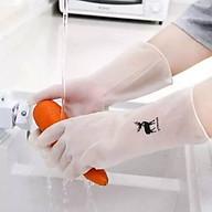 Găng tay cao su rửa chén làm bếp siêu dai HT515 thumbnail