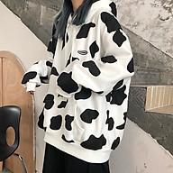 Áo hoodie nam nữ bò sữa hot thumbnail