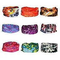 Bộ 20 Khăn đa năng nhiều màu Đi phượt đi nắng Tặng giá đỡ đa năng Popsocket thumbnail