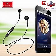 Tai nghe Bluetooth V4.2 thể thao, 2 tai có dây, kiểu dáng thể thao, trẻ trung năng động, dây cao cấp chống va đập, chống rối, chống đứt, Hàng chính hãng thumbnail