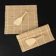 Dụng cụ cuộn sushi bằng gỗ thumbnail