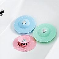 1 Chặn Bồn Rửa Bát ,Bồn Rửa Mặt Bật Mở Thông Minh (Giao Màu Ngẫu Nhiên) thumbnail