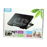 Đế tản nhiệt laptop N19 , fan laptop n19 làm mát cực nhanh. thumbnail