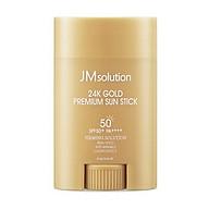 Kem chống nắng JM SOLUTION SPF50 Dạng sáp lăn(Chiết Xuất Vàng 24k Gold) thumbnail