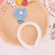 Cài Tóc (Bờm Tóc) Lò Xo Gấm Hoa Handmade Dễ Thương Cute Nhiều màu - Mã CT007 thumbnail