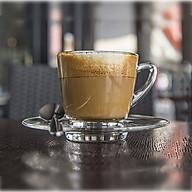 Bộ 2 tách Cafe Kenya Cup 245ml (Kèm đĩa), có quai, chất liệu thủy tinh, dành cho đồng uống nóng. thumbnail