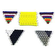 Bộ 46 sâu hạt cườm giáo cụ montessori đồ chơi giáo dục thumbnail