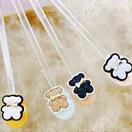 Charm gấu da gắn nail xinh xắn M21 thumbnail
