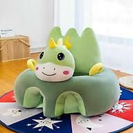 Ghế tập ngồi hình thú cho bé có bông sẵn thumbnail