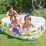 Bể bơi phao đại dương 1m59 hình vuông INTEX 57471 thumbnail