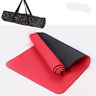 Thảm Tập Yoga TPE 2 Lớp Có Kèm Túi Đựng Tiện Lợi thumbnail