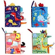 Sách vải Dolery - Sách giáo dục sớm dành cho trẻ sơ sinh (Từ 0-2 tuổi) thumbnail